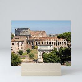 The Coliseum Rome Mini Art Print