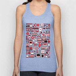 """""""Childhood Memories"""" pixel art poster Unisex Tank Top"""