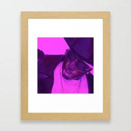 Portraits of Hip Hop Framed Art Print