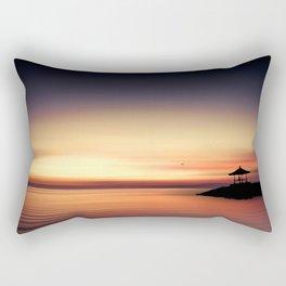 the silent sea Rectangular Pillow