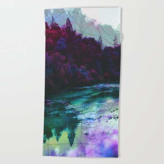 Terrarium Beach Towel