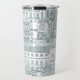 Bath toile pine mint Travel Mug