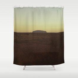 Uluru Dusk Shower Curtain