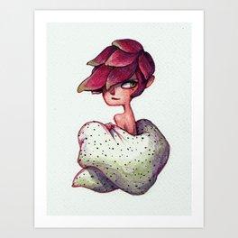 Alluring Dragon Fruit Art Print