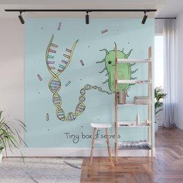 Tiny Box of Secrets - Cute Bacteria Wall Mural