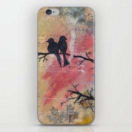 Together - Winter Birds iPhone Skin