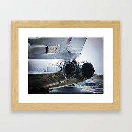 After-burners Framed Art Print