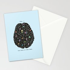 Your Brain On Video Games Stationery Cards