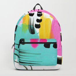 Vibrant Sun and Sea Backpack