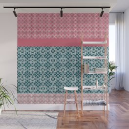Japanese Style Quilt Wall Mural