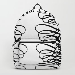 Curly Pattern 09 Backpack