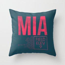 MIA II Throw Pillow