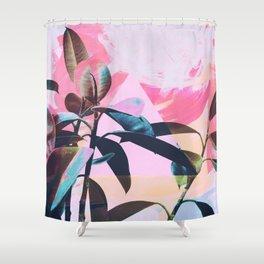 Painted Botanics Shower Curtain