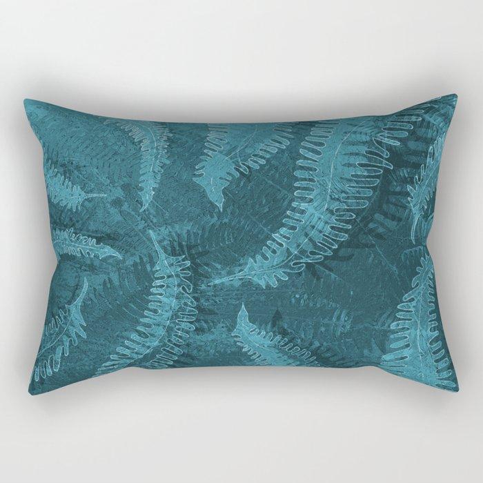 Ferns (light) abstract design Rectangular Pillow