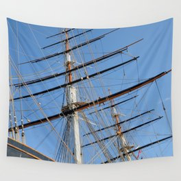 Cutty Sark Sails Wall Tapestry