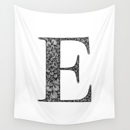 E Wall Tapestry