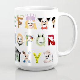 Oz-abet (an Oz Alphabet) Coffee Mug