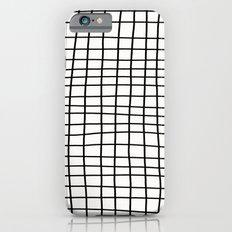 Handdrawn Grid Slim Case iPhone 6s