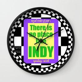 ROJ Speedway Mirth Wall Clock