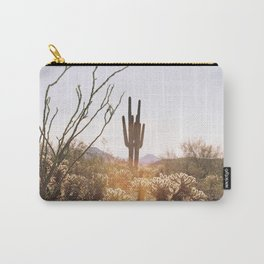cactus in the desert Carry-All Pouch