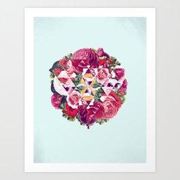 Flowers for Murders Art Print