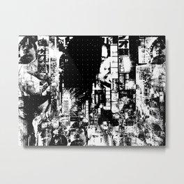 Nightlife - The beast is her guardian angel Metal Print