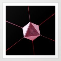 prism Art Prints featuring Prism by Massimo Merlini