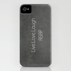 Live,Love,Laugh ASAP iPhone (4, 4s) Slim Case