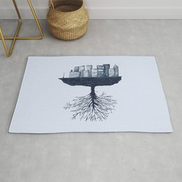 The World Against the World Rug