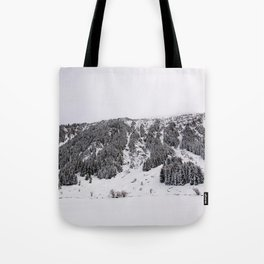 White Winterscapes III Tote Bag