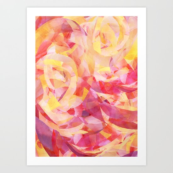 Concentric (Rise Remix) Art Print