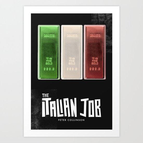 The Italian Job Art Print