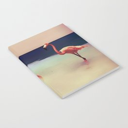 Flamingo beach Notebook