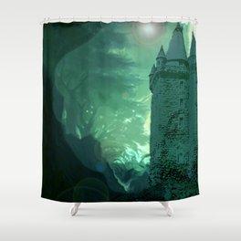 Caisleán Grove Poison Shower Curtain