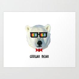coolar bear Art Print
