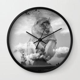 Monkey Sea Monkey Do Wall Clock