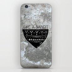 Like a Bandit iPhone & iPod Skin
