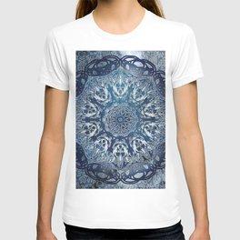Indigo Nouveau Shibori Mandala T-shirt