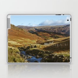 Views of Honister Pass and Hause Gill above Seatoller. Lake District; UK. Laptop & iPad Skin