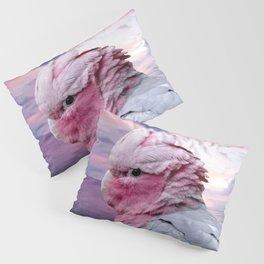 Pink Galah Cockatoo Pillow Sham