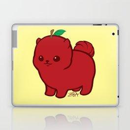 Apple Red Pom de Terrier Laptop & iPad Skin