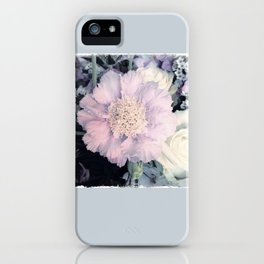 SOFT TOUCH - Purple Flower #1 iPhone Case