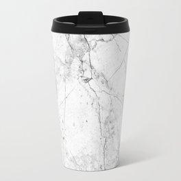 Nordic White Marble Travel Mug