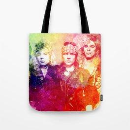 GNR color full Tote Bag