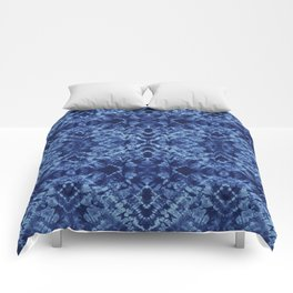 Indigo Diamonds Comforters