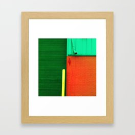 Building 1 Framed Art Print