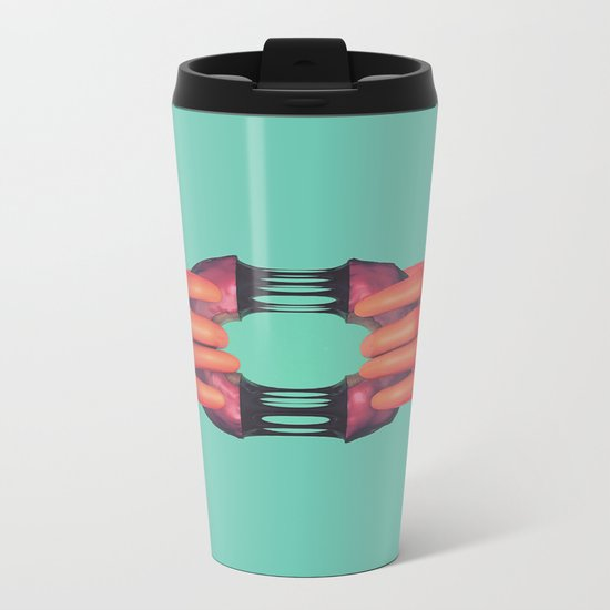 Here, have a donut.  Metal Travel Mug