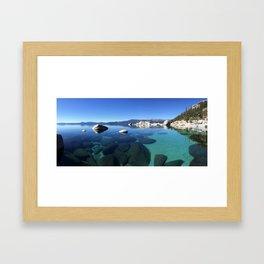 Crystal Tahoe Framed Art Print