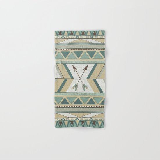 Aztec Pattern Arrows Hand & Bath Towel