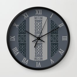 Viking grey Wall Clock